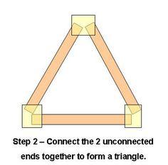 Step 2 How To Make An LED Rope Light Christmas TreeSilhouette