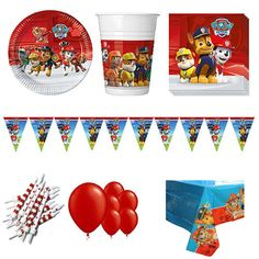 amscan Latex Balloons Party Accessory One-Size Paw Patrol Girl Collection Multicolor