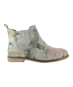 Look what I found on #zulily! Coolway Natural Floral Felicia Leather Ankle Boot by Coolway #zulilyfinds