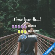 Clear Your Head - Essential Oil Diffuser Blend