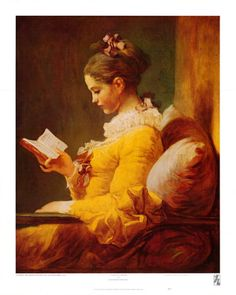 paintings with women reading...love them.