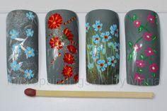 Marias Nail Art and Polish Blog: Micro Painting Monday - 9