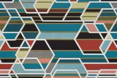 This is Maharam's Agency by Sarah Morris.  Hard to believe, but I just passed on 2 yards of it.  At 175 retail, it may be time to have my head examined.