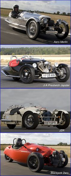 High Performance British Three Wheelers.