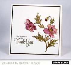 It's new release time on the Penny Black blog-- click through for card ideas, new product peeks, and giveaways!