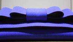 POCHETTE BLUE BOW