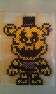 Golden Freddy from Fnaf.