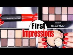 Revlon Shadow Palettes | WHY YOU SHOULD NOT BUY! - YouTube