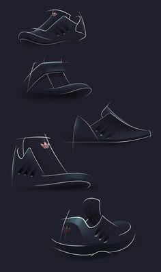 Adidas Dark Concept on Behance