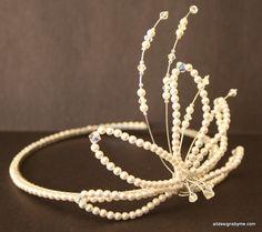 irish tiaras and crowns | Tiaras | Handmade Irish Tiaras, Fascinators and Bridal Jewellery