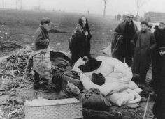 Stateless Jewish refugees at a tent camp in a no-man's-land between Czechoslovakia and Hungary. October 1938.
