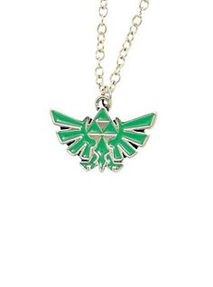 The Legend Of Zelda Triforce Charm Necklace,