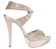 Sandalo gioiello sposa 2012 Loriblu con strass