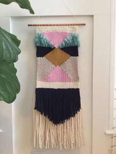 Handmade woven wall art/ woven wall hanging  by SunWoven on Etsy