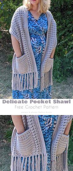 Crochet Wrap Pattern, Knit Or Crochet, Crochet Scarves, Crochet Stitches, Crochet Patterns, Free Knit Shawl Patterns, Scarf Patterns, Knitted Shawls, Crochet Prayer Shawls