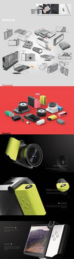 Moai modular camera concept | Designer: David Suh