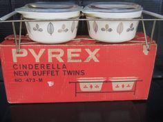 Pyrex Cinderella New Buffet Twins