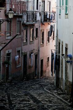 old european alley