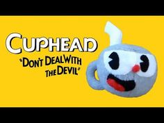 Cuphead Plush Tutorial (Free Pattern in Link)