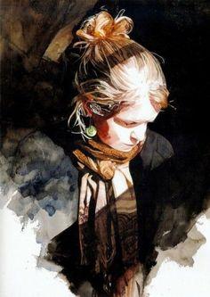 Keinyo White-watercolor portraits