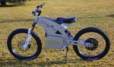 Somewhere between an electric motocrosser and an MTB, the Comoto sure looks like fun off-r...