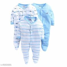 Oneseis & Rompers Fancy Cotton Kid's Rompers (Pack Of 3) Doodle Fancy 100% Cotton Kid's Rompers Combo Country of Origin: India Sizes Available: 0-3 Months, 3-6 Months, 6-9 Months, 9-12 Months, 12-18 Months   Catalog Rating: ★4.3 (3986)  Catalog Name: Doodle Fancy 100% Cotton Kid's Rompers Combo Vol 2 CatalogID_624895 C62-SC1159 Code: 665-4353560-6051