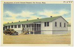 Headquarters at Lovell General Hospital, Fort Devens, Mass. by Boston Public Library, via Flickr