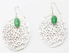 Silver Lace Earrings - Worthwhile Wear