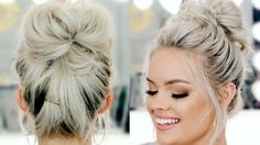 How To: Perfect Messy Bun - TWO EASY WAYS! ~ **Excellent tutorials** ~W~