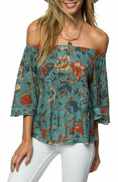 O'Neill Rudy Off the Shoulder Top