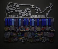 Allied Medal Hanger  Marathon Medal Holder  by AlliedMedalHangers