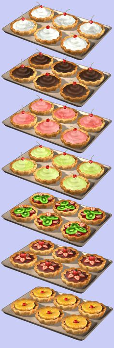 Buyable and edible Tartelettes