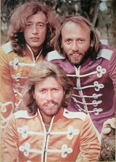 The BeeGees in Sgt.Pepper's Lonely Hearts Club Band