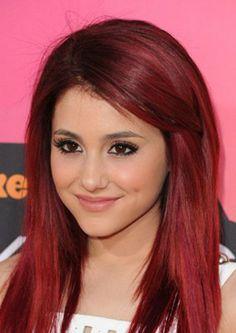 Ariana Grande hair.  She's so pretty.  Beautiful voice.  Great actor.