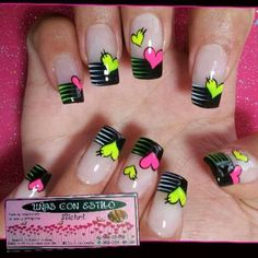 Learn how to create Easy Valentines Day Nail Art Designs - Heart Shaped Fancy Nails, Love Nails, Pretty Nails, Heart Nail Art, Heart Nails, Toe Nail Designs, Acrylic Nail Designs, Gel Nails, Acrylic Nails