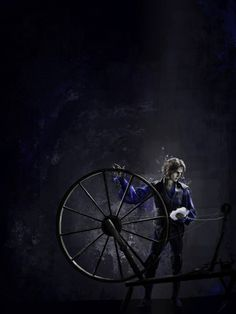 'I like to watch the wheel. Helps me forget' - Rumplestiltskin art by wackos-everywhere on Tumblr