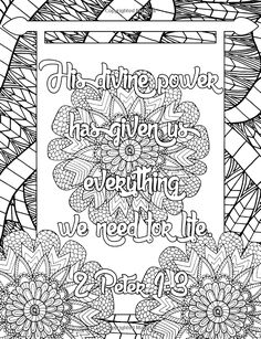 Amazon.com: Give Thanks Adult Coloring Book: Inspirational Quotes from the Bible (Christian Coloring Book) (Volume 2) (9781533173980): Christian Coloring Ink .: Books