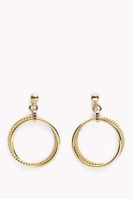 Beautiful stainless steel earrings from our new collection. Stud closure.