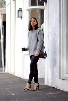 GREY KNIT (Harper & Harley | Fashion Blog | Women's guide to minimal and chic wardrobe essentials)