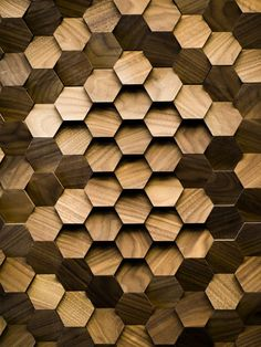 Giles Miller Studio —Alexander signature surface, hexagonal angled face tiles