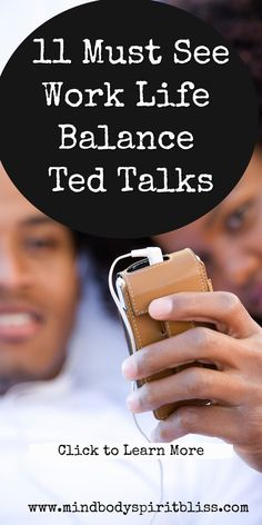 These are the best work life balance ted talks that offer actionable advice to help you live a more fufilled and stress free life. Ted Talks Video, Career Quotes, Success Quotes, Healthy Lifestyle Quotes, Happy Quotes, Quotes Quotes, Recovery Quotes, Change Your Mindset, Literary Quotes