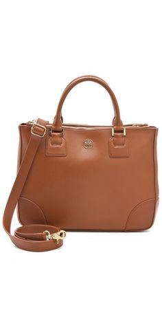 A structured tote in goes-with-everything tan leather. @Shopbop