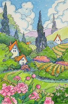 Return to Hollyhock Cottage by Alida Akers - Поиск в Google