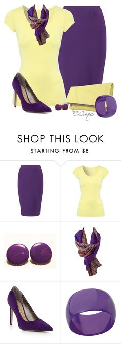 Yellow Fold-Over Clutch by ccroquer on Polyvore featuring Jane Norman, Winser London, Sam Edelman and Miss Selfridge
