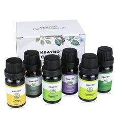 Essential Oils Aromatherapy Oil for Aroma Diffuser Humidifier 6 Kinds Fragrance of Lavender Tea Tree Rosemary Lemongrass Orange Best Essential Oil Diffuser, Humidifier Essential Oils, Lemongrass Tea, Lavender Tea, Orange Oil, Aroma Diffuser, Aromatherapy Oils, Tea Tree