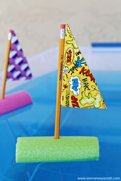 Craft: Pool Noodle Boat Racing Game