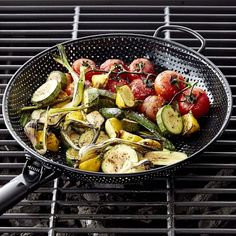 Shop high heat nonstick steel grill fry pan from Williams Sonoma. Our expertly crafted collections offer a wide of range of cooking tools and kitchen appliances, including a variety of high heat nonstick steel grill fry pan. Rice In The Oven, Grilled Veggies, Roasting Pan, Outdoor Cooking, Outdoor Grilling, Grilling Ideas, Williams Sonoma, Food Gifts, Food Preparation