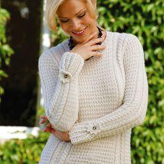 Free+Knitting+Pattern+-+Women's+Sweaters:+Mimi+Cream+Jumper+Knitting+Pattern+or+Sweater