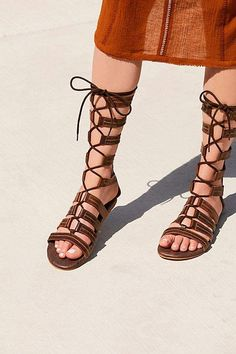 Roan Washed Ashore Tall Gladiator Sandal Womens Summer Shoes, Gladiator  Sandals, Flat Sandals, 72ff25d0b199