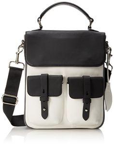 5148f38219cc L.A.M.B. Deryn Shoulder Bag Black White